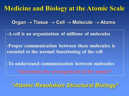 -A cell is an organization of millions of molecules -Proper communication between these molecules is essential to the normal functioning of the cell -To.