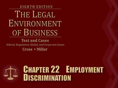  The most important federal anti-discrimination laws are:  Title VII of the Civil Rights Act of 1964.  The Age Discrimination in Employment Act. 