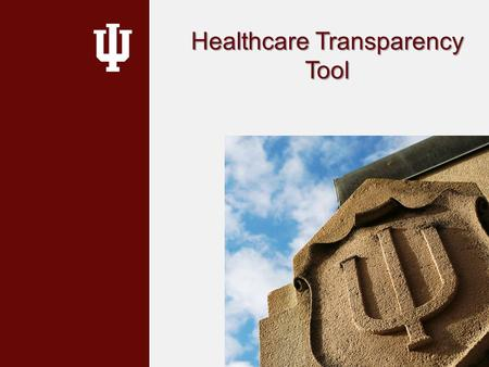 Healthcare Transparency Tool. Transparency Importance Prices for the same medical service can vary depending on where you go Prices for medical services.