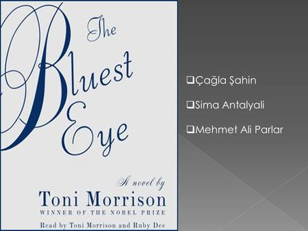 bluest eye notes The bluest eye: downloadable booknotes by toni morrison cliff notes™, cliffs notes™ free study guide: the bluest eye by toni morrison - free booknotes.