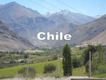 Where is Chile? Santiago, Chile is 4,700 miles from Oklahoma or 9 ½ hours by plane.