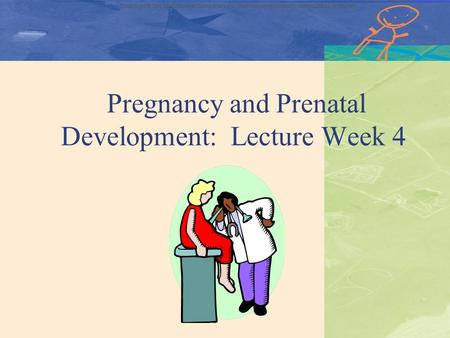Copyright © The McGraw-Hill Companies, Inc. Permission required for reproduction or display Pregnancy and Prenatal Development: Lecture Week 4.