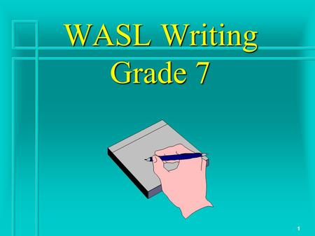 wasl essay