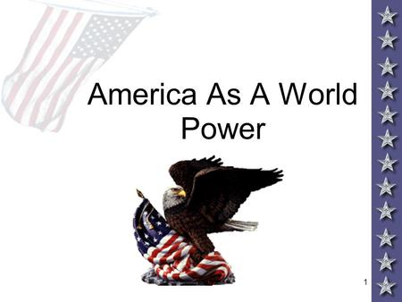 1 America As A World Power. 2 IMPERIALISM AND AMERICA Throughout the 19 th century America expanded control of the continent to the Pacific Ocean By 1880,