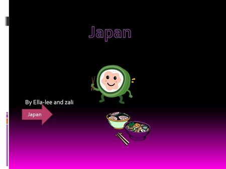 By Ella-lee and zali Japan.  Clothing  Food  School  Weather  Transport  Festivals CONTENTS PAGE.