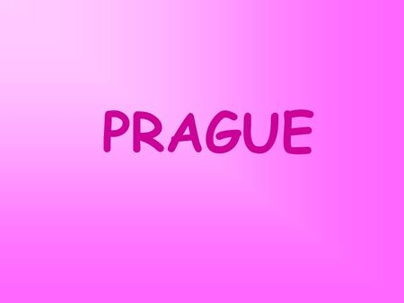 PRAGUE. Your task: There are a lot of interesting buildings in the capital of the Czech Republic. Look at the following photos and the list of names of.