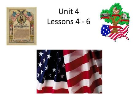 Unit 4 Lessons 4 - 6. A member of the Senate senator.