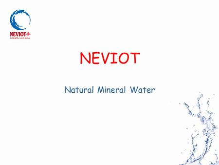 NEVIOT Natural Mineral Water