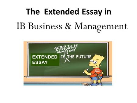 Extended Essay On Business And Management Custom Paper Sample  Extended Essay On Business And Management