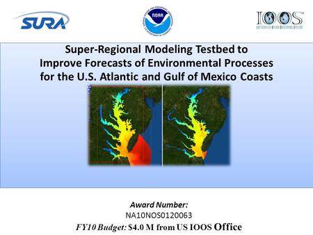 Super-Regional Modeling Testbed to Improve Forecasts of Environmental Processes for the U.S. Atlantic and Gulf of Mexico Coasts Super-Regional Modeling.