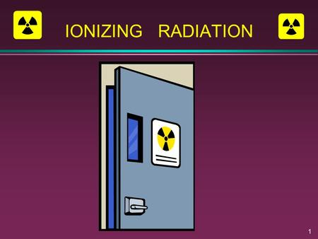 1 IONIZING RADIATION. 2 Non-Ionizing Radiation Does not have enough energy to remove electrons from surrounding atoms.