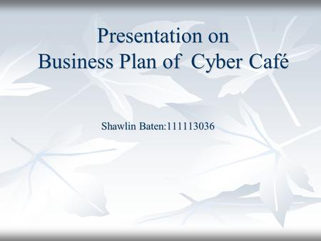 cyber cafe business plan download Business plan internet cafe photo hd template pdf download sample of for in south africa cyber ppt | geospy.