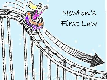 Newton's First Law Chapter 13 section1