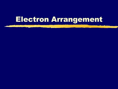 Electron Arrangement. Atoms Review Name the three particles of the atom and their respective charges are: a. Proton positive b. Neutron_neutral, no charge.