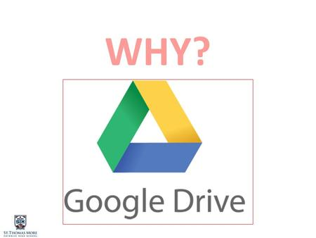 WHY?. Accessing Google Drive Online Besides accessing Drive from your computer, you can access it online in Google Apps. Click the GOOGLE APP icon, then.