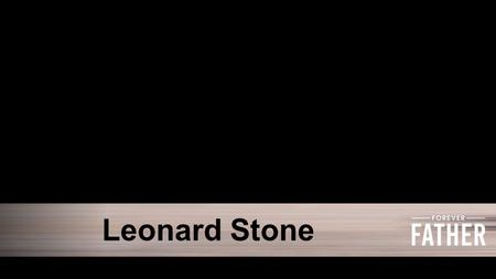 Leonard Stone. Courage WARRIORWORRIER Psalm 42:6 NLT Now I am deeply discouraged…
