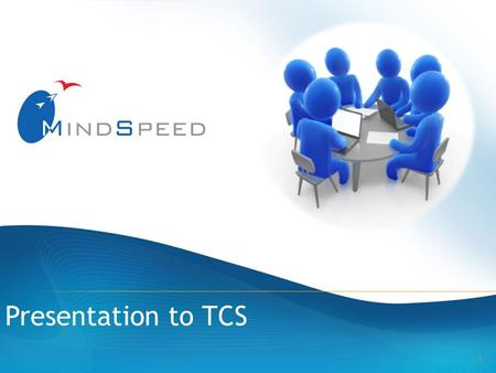 1 Presentation to TCS. 2 Who we are What we can offer What we do Our products & services.