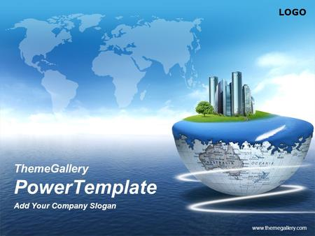 LOGO www.themegallery.com ThemeGallery PowerTemplate Add Your Company Slogan.