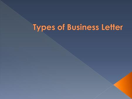  The main purpose of sales letters is persuasion as they are written to sell products and services.