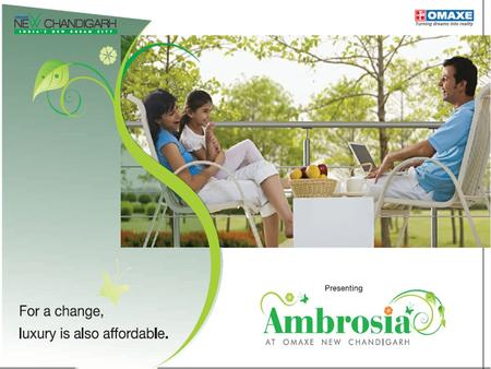 PRICE LIST - AMBROSIA 1425 Sq Ft G+2 INDEPENDENT FLOORS OMAXE NEW CHANDIGARH Sr.No. Plot AreaTotal saleable Area per floorFloor Basic Sale.