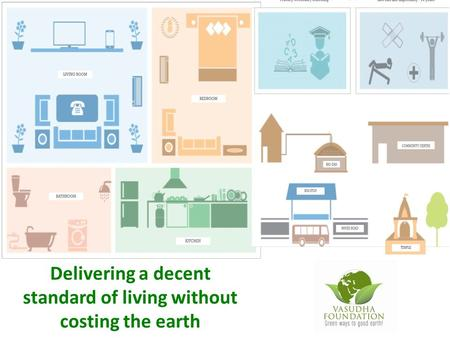 Delivering a decent standard of living without costing the earth.
