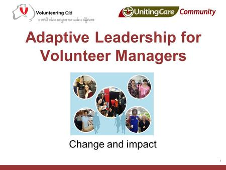 Adaptive Leadership for Volunteer Managers