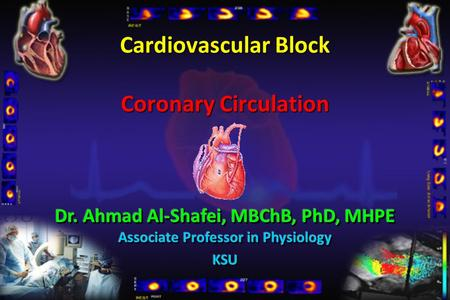 Cardiovascular Block Coronary Circulation