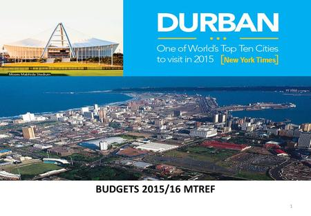 BUDGETS 2015/16 MTREF 1. 2 NATIONAL TREASURY – EXECUTIVE SUMMARY.