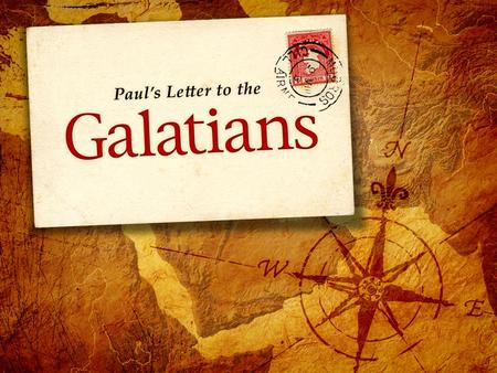 "Introduction to the Book Author: Paul Recipients: ""The churches of Galatia"" −Likely Southern Galatia (Antioch, Iconium, Lystra, Derbe) −Church established."