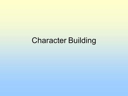 Character Building. Basic Information Name: Status: Age: Gender: Hometown: Relationship Status: Looking For: Political Views: Religious Views: Homer Jay.