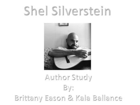 The works of an influential writer sheldon allan silverstein