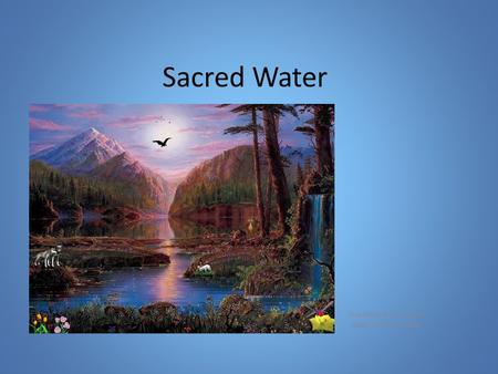 Sacred Water Created by Sharon Meyer NESD FNMI June, 2015.