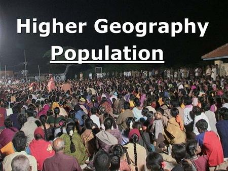 "Population Higher Geography. Development & Health ""For Brazil or any other Developing country which you have studied, suggest reasons why regional variations."