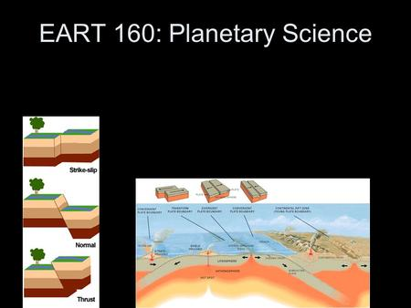 EART 160: Planetary Science. Last Time HW 2 due Today –How are people doing? Planetary Surfaces –Volcanism –Magma –Volcanic Features on Planets.