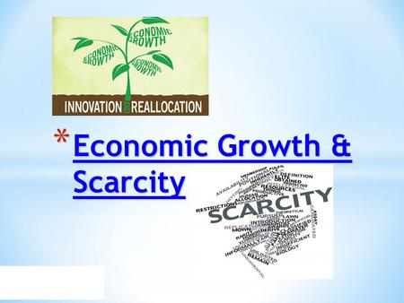 "economic growth and scarcity Water scarcity threatens growth and stability, study warns  scarcity is a major threat to economic growth and stability around the world and climate change is making the problem worse,"" he."