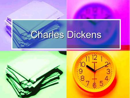 Charles Dickens. Life Charles John Huffam Dickens was an English novelist. He was born at Landport on February 7, in 1812. He was the second of eight.