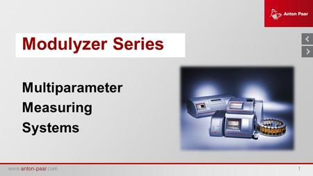 Multiparameter Measuring Systems