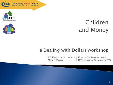 1 a Dealing with Dollar $ workshop Children and Money.