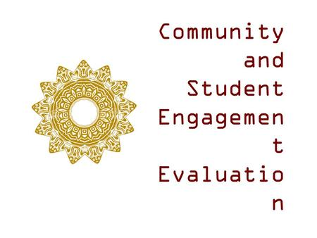 Community and Student Engagemen t Evaluatio n. Community & Parent Involvement  EXEMPLARY Fine Arts  EXEMPLARY Wellness & Physical Education  EXEMPLARY.
