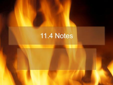 11.4 Notes. High Explosives Classified into two groups –Primary explosives – detonate violently with no burning Used as primers – detonate other explosives.