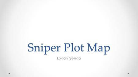 Sniper Plot Map Logan Genga.