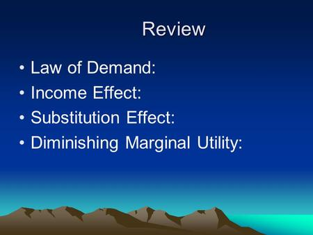 explain law of demand and factors affecting demand economics essay How to study for chapter 4 the law of demand  wish to buy --- called the demand what factors explain the quantity demanded of a given product by buyers.