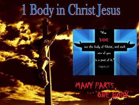 "1Corinthians12:12 ""For as the body is one and has many members, but all the members of that one body, being many, are one body, So also is Christ"""