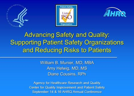 patient safety and quality supporting family Institute for patient- and family-centered care quality improvement, patient safety initiatives and patient-centred care: improving quality and safety by.