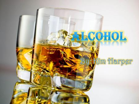  In Chemistry, alcohol is an organic compound in which the hydroxyl functional group is bound to a saturated carbon atom What Is Alcohol???