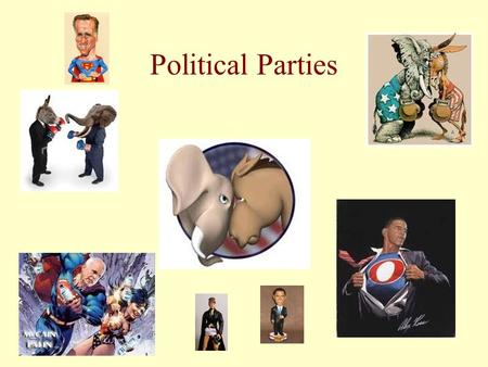 Political Parties. What Are Political Parties? The Two-Party System in America Party Organization Parties and the Electorate Parties and Elections Parties.