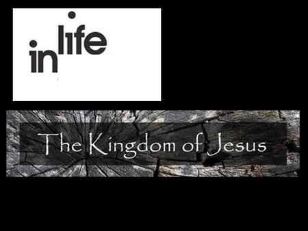 Kingdom Living Within the Church In Chapter 1 we saw that Jesus is the Image of the Invisible God.