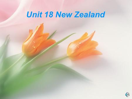 Unit 18 New Zealand. west east north south northeast southeast northwest southwest.