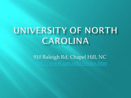 910 Raleigh Rd, Chapel Hill, NC