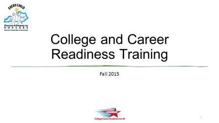 College and Career Readiness Training